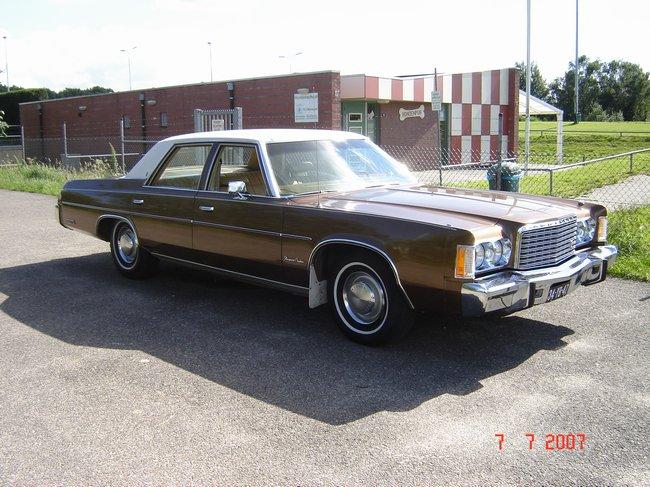 1975 Chrysler Newport Custom 400 Cui